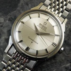 OMEGA オメガ コンステレーション 12角 オリジナルシルバーダイヤル クロノメーター 自動巻き 1962年 アンティーク 時計:]