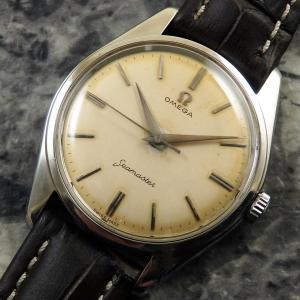 オメガ シーマスター ランチェロケース ref.2996 30mmキャリバー Cal.285 1959年 アンティーク 時計