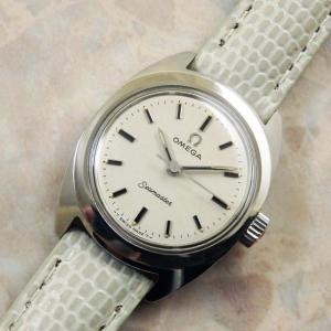 オメガ レディースウォッチ アンティーク時計 稀少 シーマスター 1969年 OMEGA:]