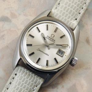 オメガ レディース シーマスター アンティークウォッチ 自動巻き 1970年 時計 OMEGA