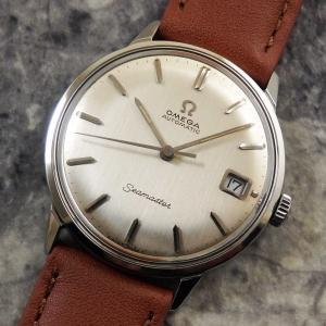 オメガ シーマスター ボンベイ文字盤 アンティーク 1963年 自動巻き 時計 OMEGA
