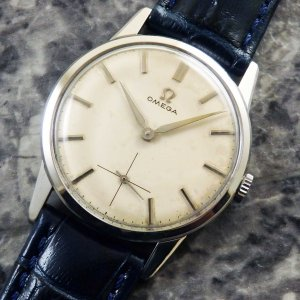 オメガ 30ミリキャリバー アルファハンド スモールセコンド 1959年 アンティーク スモセコ OMEGA 手巻き 時計:]