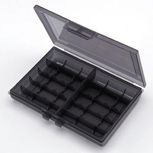 サンワダイレクト 電池ケース 単3電池 単4電池 各最大10本収納 200-BT005BKの商品画像 ナビ
