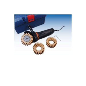 SLディスクセット(電動式)塩ビステッカー剥離専用機械 ゴトー電機 ロータリーブラスター ステッカーを粉砕し除去する専用機械|axe123