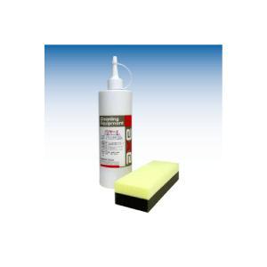 フッ素樹脂 コーティング剤 バリアー2 カーワックス WAX 撥水 コート 剤 最強 業務用 洗車 用品 ガラス カー ボディー 車【バリヤー2 400cc(専用スポンジ付き)】|axe123