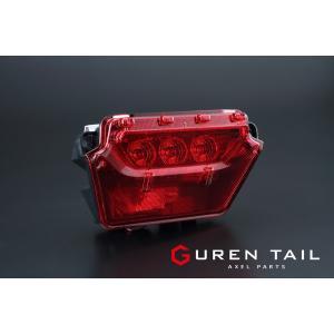 GUREN TAIL 60系ハリアー レッド リアフォグランプ|axel-parts