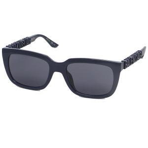 「7/25限定 P10%還元」バレンシアガ サングラス アイウェア メンズ レディース 56サイズ ブルー BALENCIAGA BB0108S 003 axes