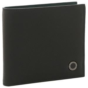 【返品OK】ブルガリ  二つ折り財布 ブルガリブルガリマン ブラック メンズ BVLGARI 291158|axes