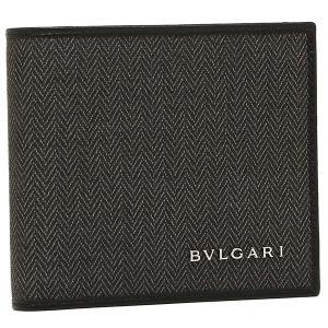 ブルガリ 二つ折り財布 BVLGARI メンズ 32581 WEEKEND ブラック|axes