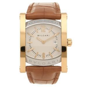 ブルガリ 腕時計 レディース BVLGARI AA39C6SGLD イエローゴールド シルバー ブラウン|axes