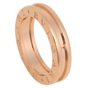 615683a2ea84 ブルガリ 指輪 BVLGARI リング ビーゼロワン RPG1BAND AN852422 ワンバンド ピンクゴールド アクセサリー(サイズ交換不可)