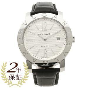 BVLGARI 腕時計 メンズ ブルガリ BB42WSLDAUTO ホワイト シルバー ブラック|axes
