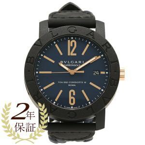 BVLGARI 腕時計 メンズ ブルガリ BBP40C3CGLD  ブルー ブラック|axes