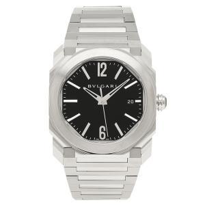 BVLGARI 腕時計 レディース ブルガリ BGO38BSSD ブラック シルバー|axes