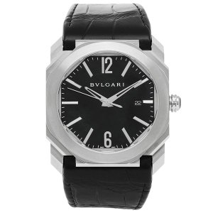 BVLGARI 腕時計 レディース ブルガリ BGO41BSLD ブラック シルバー|axes