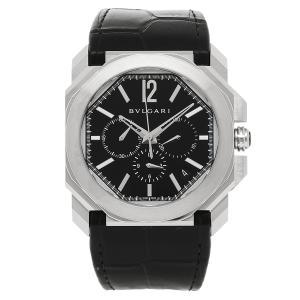 BVLGARI 腕時計 レディース ブルガリ BGO41BSLDCH ブラック シルバー|axes
