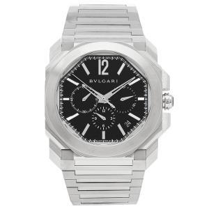 BVLGARI 腕時計 レディース ブルガリ BGO41BSSDCH ブラック シルバー|axes