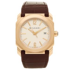 BVLGARI 腕時計 レディース ブルガリ BGOP38WGLD ホワイト ローズゴールド ブラウン|axes