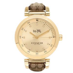 コーチ 腕時計 COACH 14502539 ブラウン ゴールド