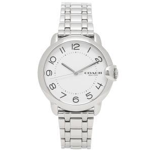 【返品OK】コーチ COACH 時計 レディース アーデン36mm クォーツ ホワイト シルバー 14503597 axes