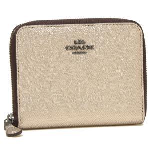 【返品OK】コーチ 折財布 レディース COACH 38872 GMO3Z プラチナ