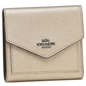 【返品OK】コーチ 折財布 レディース COACH 59972 GMO3Z プラチナ