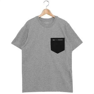 コーチ Tシャツ アウトレット グレー メンズ COACH 89749 LTE axes