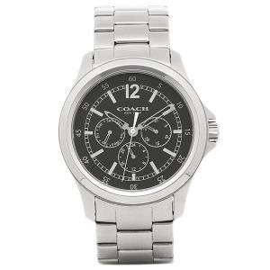 コーチ 腕時計 アウトレット COACH W5020 BLK ブラック/シルバー