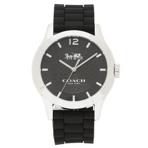 コーチ 腕時計 アウトレット COACH W6033 BLK ブラック シルバー