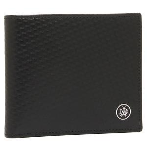 ダンヒル 二つ折り財布 DUNHILL L2V332A ブラ...