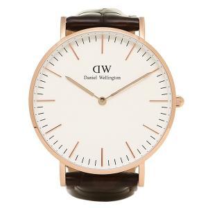 ダニエルウェリントン 腕時計 Daniel Wellington 0510DW ゴールド ダークブラウン axes