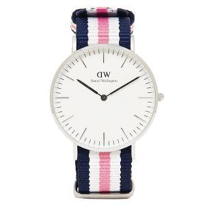 ダニエルウェリントン ベルト40mm 腕時計 Daniel Wellington 0605DW シルバー ネイビー ピンク ホワイト axes