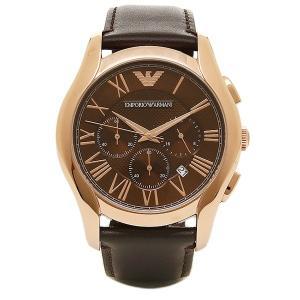 エンポリオアルマーニ 腕時計 EMPORIO ARMANI AR1701 ブラウン ゴールド