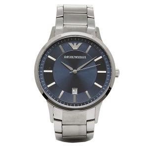 エンポリオアルマーニ 腕時計 EMPORIO ARMANI AR2477 シルバー ブルー