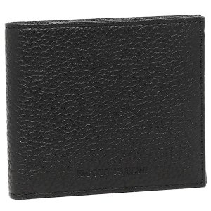 エンポリオアルマーニ メンズ 折財布 EMPORIO ARMANI YEM122 YC89J 80001 ブラック
