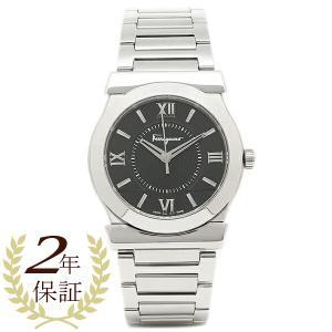 【10%オフクーポン対象】 フェラガモ 腕時計 レディース Salvatore Ferragamo FI0940015 ブラック シルバー