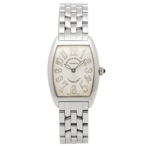 フランクミュラー 腕時計 レディース FRANCK MULLER 1752QZCASA シルバー ホワイト...