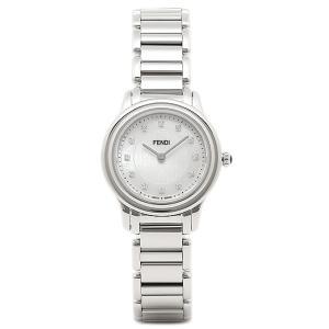 【返品保証】 フェンディ 腕時計 レディース FENDI F251024500D1 ホワイト/シルバー axes