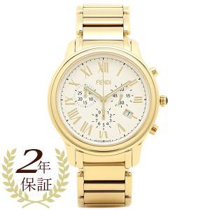【返品保証】 フェンディ 腕時計 レディース FENDI F252414000 ホワイト ゴールド axes