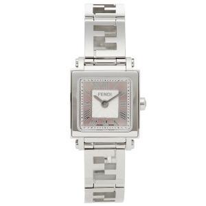 【返品保証】 フェンディ 腕時計 レディース FENDI F605027500 ピンクパール シルバー axes