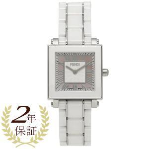 【返品保証】 フェンディ 腕時計 レディース FENDI F622270 ピンクパール ホワイト シルバー axes