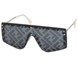 フェンディ サングラス アイウェア メンズ フェンディファビュラス 99サイズ ブルー シルバー アジアンフィット FENDI FF M0076/G/S PJP 7R axes
