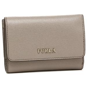 「10%オフクーポン対象」 フルラ 折財布 レディース FURLA 872820 PR76 B30 SBB ライトグレー