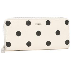 【返品OK】フルラ  長財布 バビロン XLサイズ ラウンドファスナー ホワイト レディース FURLA PCX8UNO A0721 P0100 axes