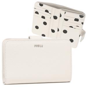 【返品OK】フルラ  二つ折り財布 バビロン Mサイズ ホワイト レディース FURLA PCX9UNO AX0782 0630S|axes
