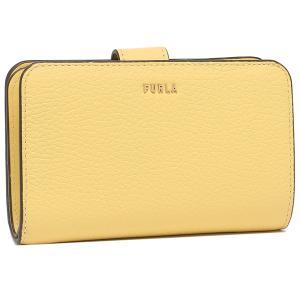 【返品OK】フルラ  二つ折り財布 バビロン Mサイズ イエロー レディース FURLA PCX9UNO HSF000 MIM00 axes