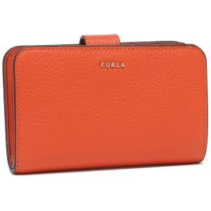 【返品OK】フルラ  二つ折り財布 バビロン Mサイズ オレンジ レディース FURLA PCX9UNO HSF000 TNG00 axes
