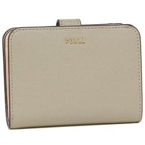 【返品OK】フルラ  二つ折り財布 バビロン Sサイズ ベージュ グレー レディース FURLA PCY0UNO B30000 0718S|axes