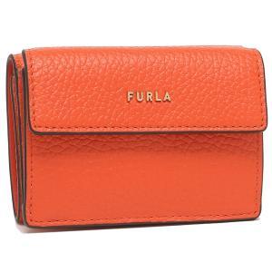 【返品OK】フルラ  三つ折り財布 バビロン Sサイズ ミニ財布 オレンジ レディース FURLA PCY9UNO HSF000 TNG00 axes
