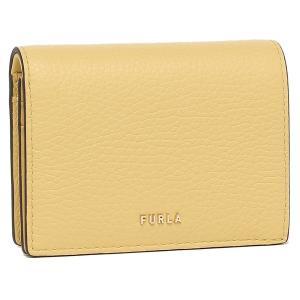 【返品OK】フルラ FURLA 二つ折り財布 カードケース バビロン Sサイズ ミニ財布 イエロー レディース WP00075 HSF000 MIM00|axes